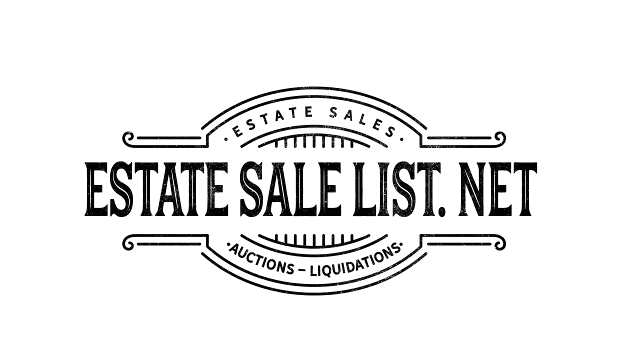 Estate Sale List . NET